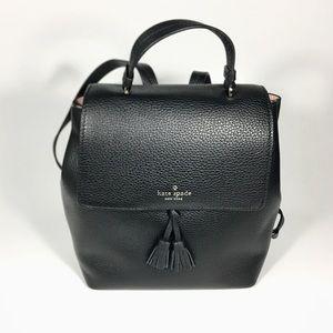 NWT Kate Spade Hayes Medium Black Backpack